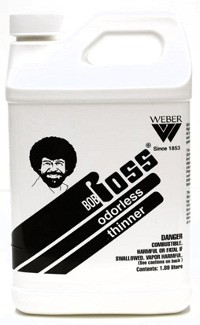 Bob Ross Odorless Paint Thinner 1 2 Gallon Painting Crafts Division