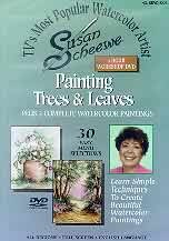 Susan Scheewe 3 Hour Workshop DVD - Painting Trees and Leaves