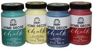 Plaid Folkart Home Decor Chalk Paint Painting Crafts Division Of