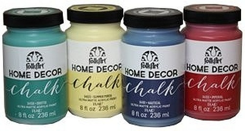 Plaid Folkart Home Decor Chalk Paint Painting Crafts Division Of Hofcraft The Painters Source
