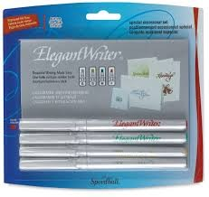 Elegant Writer Special Occasion Pens, Set of 4
