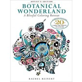 Botanical Wonderland, Coloring Book