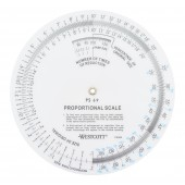 5 inch Round Proportional Scale