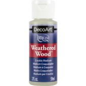 Deco Art Weathered Wood Crackle Medium, 2 oz