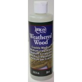 Deco Art Weathered Wood Crackle Medium, 8 oz