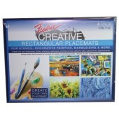 13 x 17 Rectangular Canvas Placemats, Pack of 4