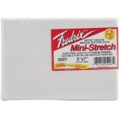 Fredrix Pre-Stretched Canvas - Standard Cotton Duck 5in x 7in