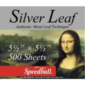 500 sheet Bulk Composition Silver Leaf