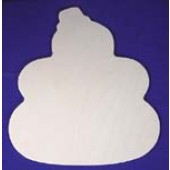 Snowman with Top Hat, Shapes for Seasons Plywood Cutout