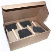 4 inch Foam Brush, Case of 24