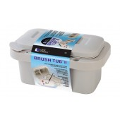 Loew Cornell Deluxe Brush Tub II with Palette Lid