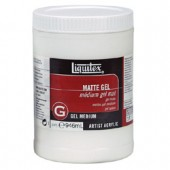 8 oz. Liquitex Matte Gel Medium