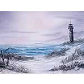 1 Hour Single Painting DVD - Seascape with Lighthouse