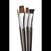 4 Piece Fabric Brush Set, Donna Dewberry