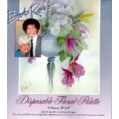 Bob Ross Disposable Floral Palette