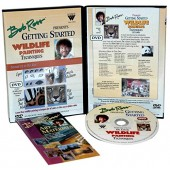 Wildlife Painting - Getting Started, Bob Ross DVD