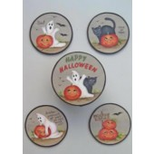 Halloween Coaster Set Packet, Marlene Kreutz
