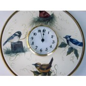 Backyard Birds Clock Packet, Nancy Dale Kinney-Stout