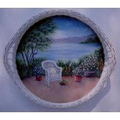 Ocean View Wicker Tray Packet