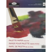 Artist Acrylic and Oil Palette Paper