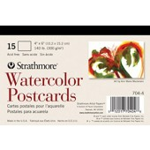 4 x 6 inch Watercolor Postcards, Strathmore