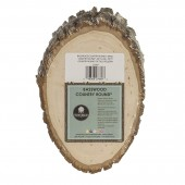 Walnut Hollow Basswood Country Oval, 5-7 in