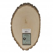 Walnut Hollow Basswood Country Oval, 9-11 in