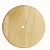 Small Round Wood Clock