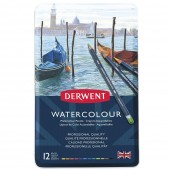 Derwent 12 Watercolor Pencil Set
