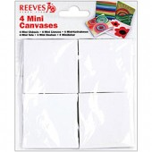 4-Pack Reeves Mini Canvas