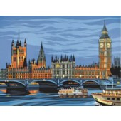 Houses of Parliament, Reeves Senior Painting by Number
